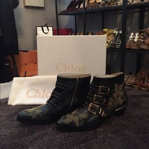 Chloé Suzanna Bootie size 39.5/9.5